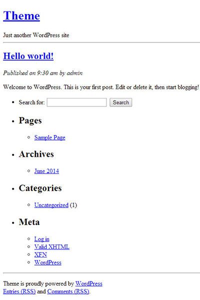 showing-the-output-of-the-new-wordpress-theme