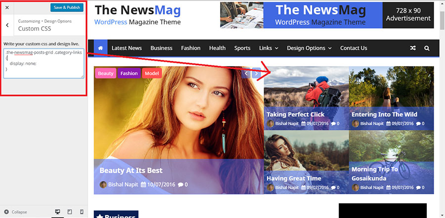 custom-css-the-newsmag